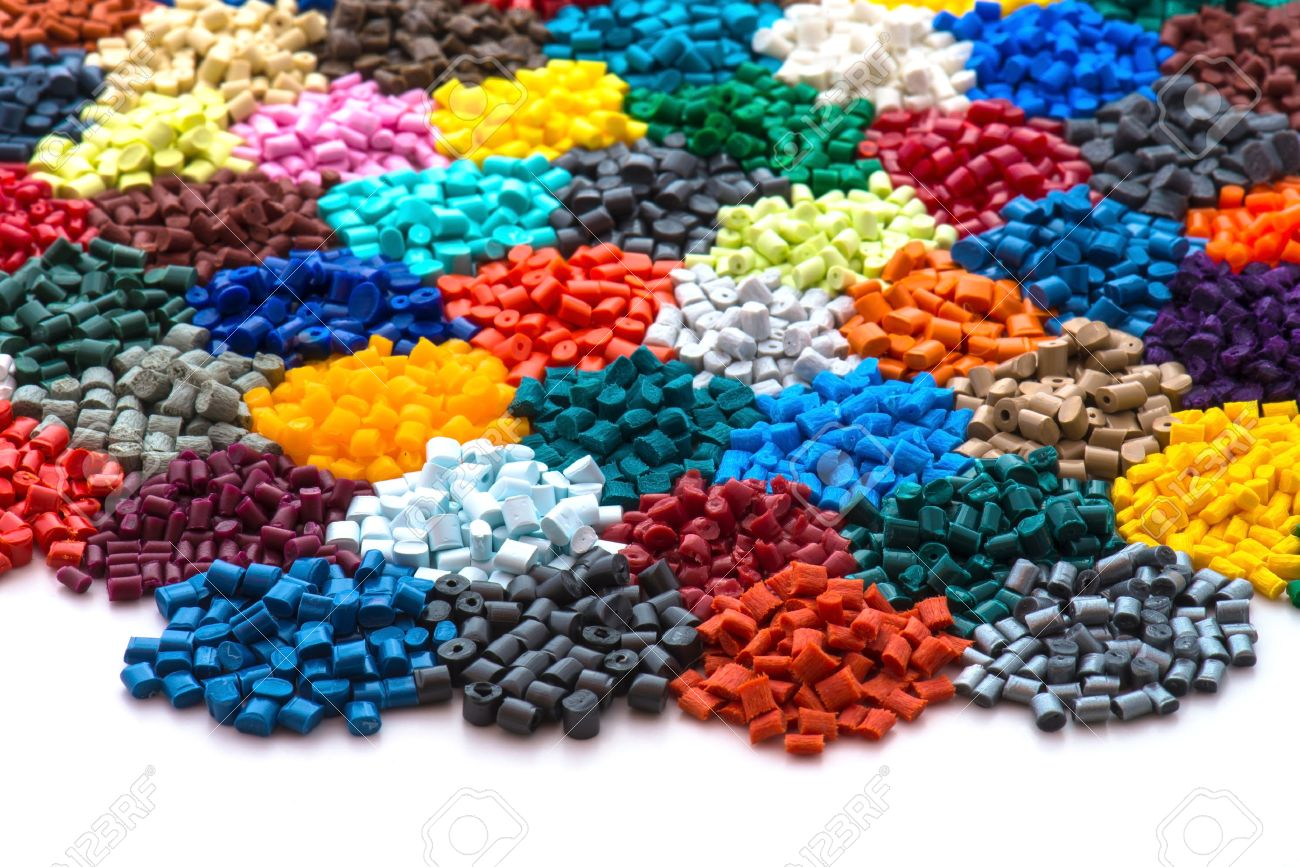 27829747-dyed-plastic-granulate-resins